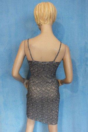 Платье Длина 85 см, ОГ 84 см, ОТ 66 см, ОБ 80 см. Имеет небольшой складской запах, при стирке уходит