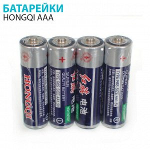 Пальчиковые батарейки HONGQI AA 40 шт.