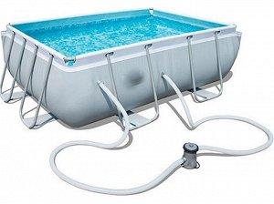 Каркасный бассейн + фильтр-насос