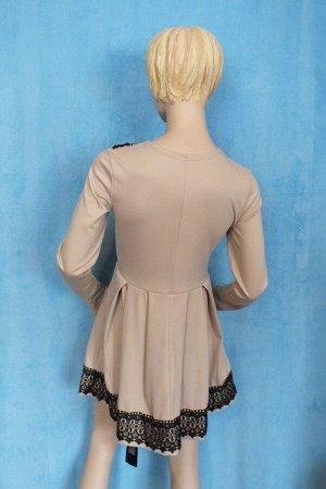 Платье Рукава 60 см, Длина 82 см, ОГ 90 см, ОТ 80 см. Имеет небольшой складской запах, при стирке уходит