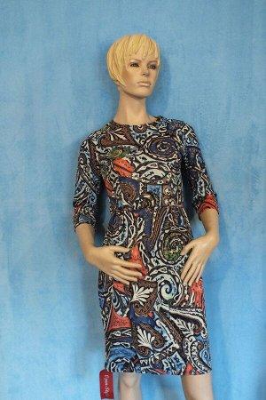 Платье Рукава 44 см, Длина 90 см, ОГ 88 см, ОТ 70 см, ОБ 90 см. Имеет небольшой складской запах, при стирке уходит