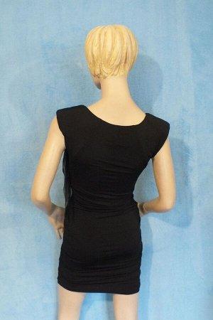 Платье Длина 83 см, ОГ 89 см, ОТ 67 см, ОБ 90 см. Имеет небольшой складской запах, при стирке уходит