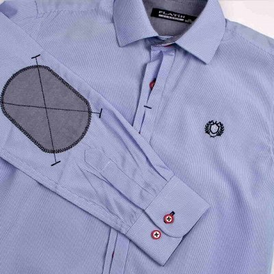 Новый бренд: Школа без рядов/гарантия цвета — МАЛЬЧИКИ РУБАШКИ ДЛИННЫЙ РУКАВ — Одежда для мальчиков