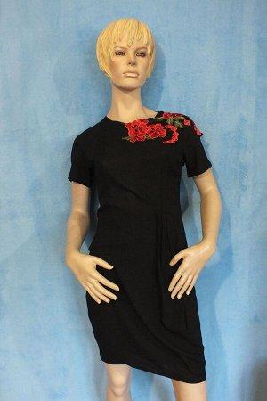 Платье Материал шифон. Рукава20 см, Длина 90 см, ОГ 94 см, ОТ 74 см, ОБ 98 см. Имеет небольшой складской запах, при стирке уходит