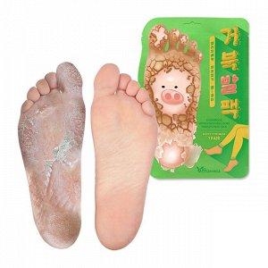 Пилинг-носочки с фруктовыми экстрактами Elizavecca Turtle's Foot Pack, 1 пара