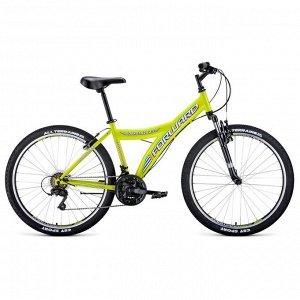"""Велосипед 26"""" Forward Dakota 2.0, 2020, цвет жёлтый/белый, размер 16,5"""""""