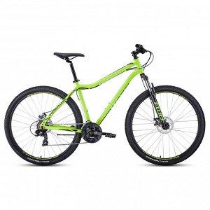 "Велосипед 29"" Forward Sporting 2.0 disc, 2020, цвет зелёный/чёрный, размер 19"""
