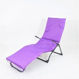 Подушка-матрас водоотталкивающ. 190х60х3,5 см, фиолетовый