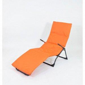 Подушка-матрас водоотталкивающ., оранжевый, 190х60х3,5 см.