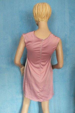 Платье Длина 83 см, ОГ 86 см, 81 см, ОБ 102 см. Имеет небольшой складской запах, при стирке уходит