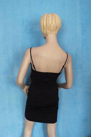 Платье Длина 82 см, ОГ 88 см, ОТ 70 см, ОБ 90 см. Имеет небольшой складской запах, при стирке уходит