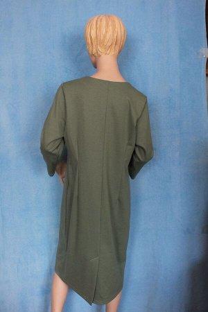 Платье Рукава 49 см, Длина 108 см, ОГ 120 см, ОТ 110 см, ОБ 122 см. Имеет небольшой складской запах, при стирке уходит