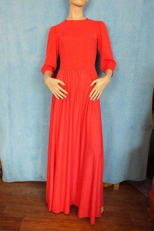 Платье Рукава 46 см, Длина 151 см ОГ 88 см, ОТ 65 см Имеет небольшой складской запах, при стирке уходит