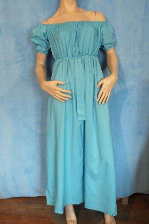 Платье Рукава 20 см, длина 120 см, ОГ 84 см, ОТ 90 см. Имеет небольшой складской запах, при стирке уходит