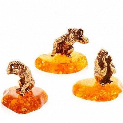 ✨ШаманMarket. Линзы, мышки, подарки. — Латунные мышки (и не только) на янтаре, Брелочки — Сувениры