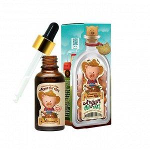 Аргановое масло 100% [ELIZAVECCA] farmer piggy argan oil 100% (30ml)