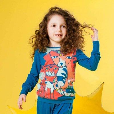 Детские лосины, джоггеры, шорты. Яркие лосины от 183 рублей — Кофты, туники, рубашки