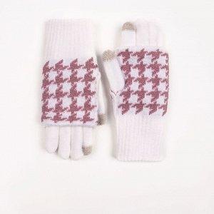 Перчатки подростковые сенсорные Kim Lin