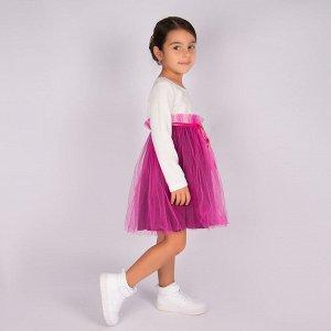 Платье У+ кулирка для девочки