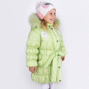 Пальто Дашенька Smiley зимнее для девочки