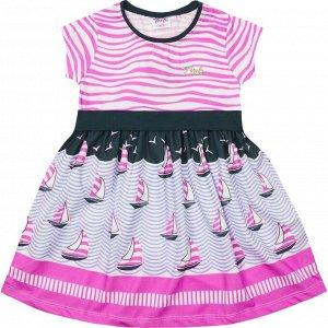 Платье Pink Чайки для девочки сиреневый