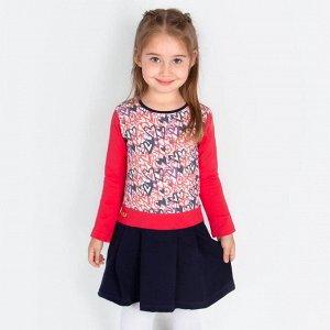 """Платье Pink """"Аманда"""" для девочки Цвет: алый"""