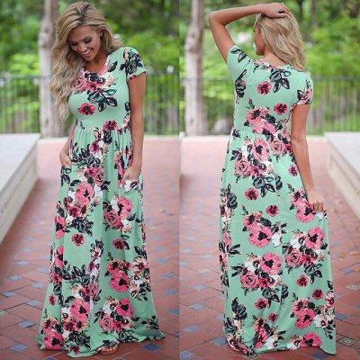 💥Весна!Нижнее белье!Платья!Все скидки в одной закупке!🔥😍  — Платья и юбки  от 75 рублей!!! — Длинные платья
