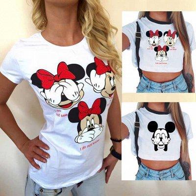 💥Обувь! Супер цены!🍁Одевайся вся семья!🍂Осень-Зима🔥😍   — Яркие футболки 275 рублей! — Футболки