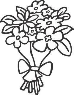 """Трафарет с магнитом """"Цветы"""""""