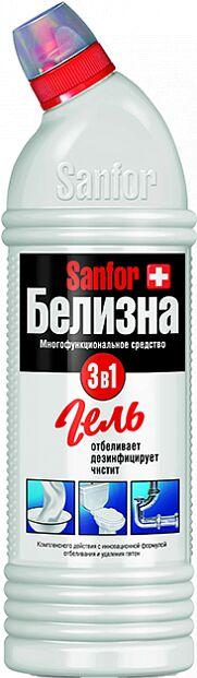 SANFOR Белизна Гель 3в1 с хлором 700 мл.