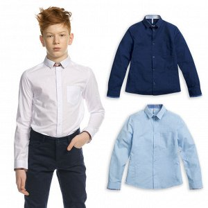 BWCJ7086 сорочка верхняя для мальчиков