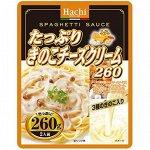 Соус для спагетти 'Таппури Киноко' с грибами и сыром ТМ Hachi 260 гр м/уп 1/24