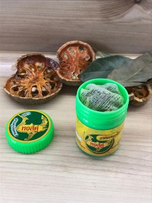Тайский ингалятор Хонг Тай, сухой набор трав для ингаляции