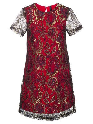 Платье коктейльное А-силуэта