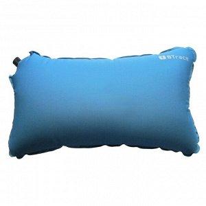 Подушка самонадувающаяся Elastic, 50 x 30 x 8,5 см, синий