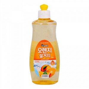Средство для мытья посуды Sandokkaebi Апельсин, флакон, 500 гр
