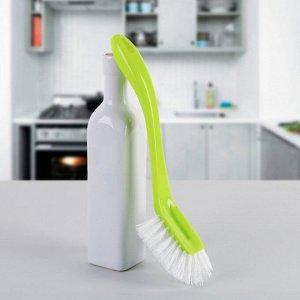Щётка для мытья посуды большая «Колибри», цвет МИКС
