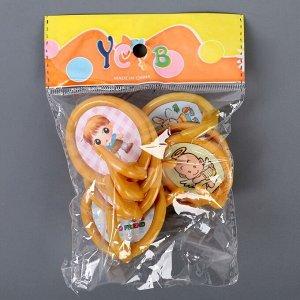 Набор крючков на липучке «Детство», 8 шт, цвет МИКС