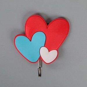 Крючок на липучке «Влюблённые» 4686325