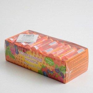 Аскорбиновая кислота «Квадрат-С» с сахаром и натуральными плодовыми порошками, вкус клубники, 10 таблеток