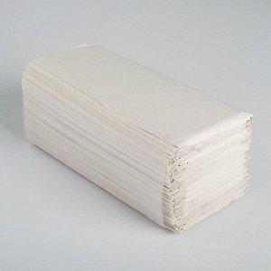 Полотенца V - сложения светло-серые 35 гр.м2, 200 л, 23*20