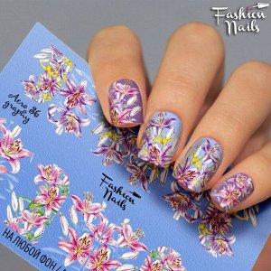 Fashion Nails, Слайдер-дизайн Aerography 36