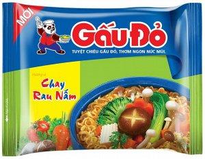 Gau Do пшеничная лапша вегетарин грибы и овощи