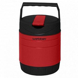 Термос пищевой 1 л 24009/1Р красный с черным