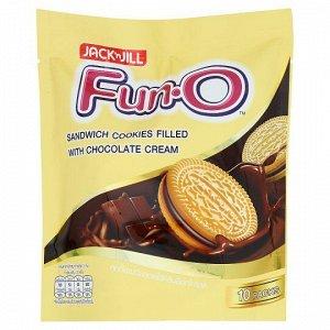"Печенье ""Fun-O"" сэндвич  с шоколадным кремом (Fun-O Sandwich cookies witch chocolate cream), 150 гр. СРОК ГОДНОСТИ ДО 06.01.2021"