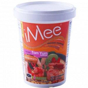 "Сублимированная лапша со вкусом сливочного тайского супа ТОМ ЯМ с креветкой ""iMee  Creamy Tom Yum"" 65 гр."