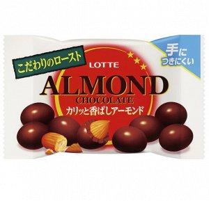 Миндаль в шоколаде, Lotte, 43гр.