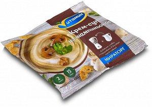 Грибной крем-суп из шампиньонов ЗАМ пакет 400гр