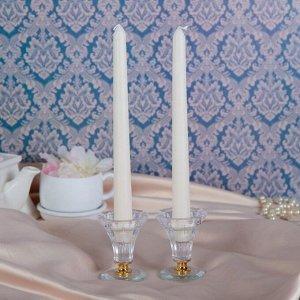 Набор свечей античных,2,5х 25 см, 2 штуки, белый, подвес
