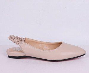 L0010-02-4 бежевый (Иск.кожа/Иск.кожа) Туфли летние открытые женские 10п